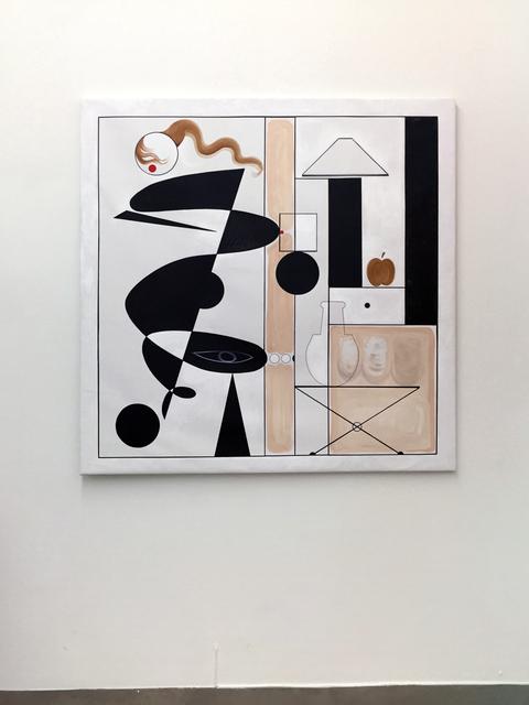 , 'White Anormal Modulor,' 2016, Agustina Ferreyra