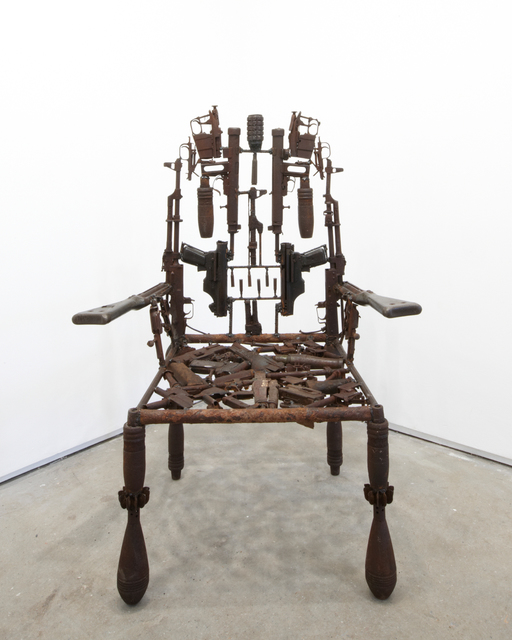 , 'Untitled (Throne),' 2011, Jack Bell Gallery