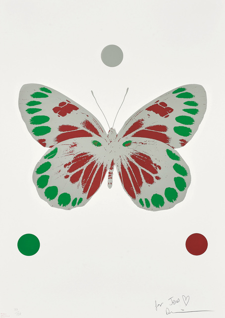 Damien Hirst, 'Science Xmas Butterfly Print', 2010, Phillips