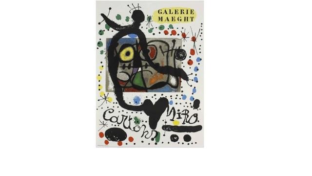 Joan Miró, 'Miro Cartons at Galerie Maeght', 1965, Leviton Fine Art