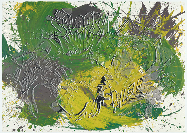 , 'Actions: Sploosh Splsh (No.2),' 2012, White Cube