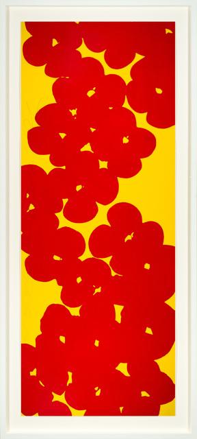 Donald Sultan, 'Wallflowers 2018', 2018, Merritt Gallery