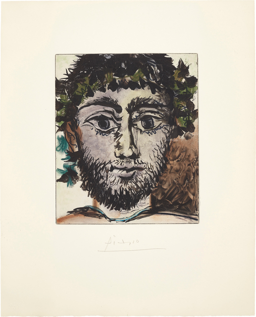 Pablo Picasso, 'Tête de faune (Head of a Faun)', 1960, Phillips