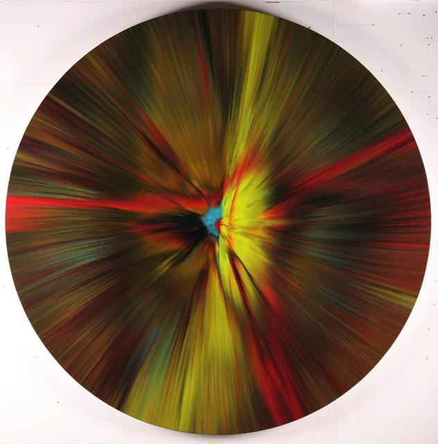 Damien Hirst, 'Beautiful, Intergalactic, Explosive Journey Through Interstellar Space Spin', 2016, Kristy Stubbs Gallery