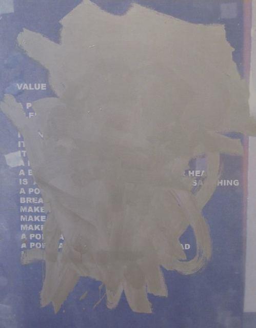 Stefan Brüggemann, 'Obliterated Painting (Value / No Value) ', 2008, Post Box Fine Art