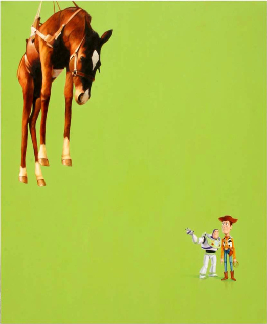 , 'Woody and Cattelan,' 2010, Art Of The World Gallery