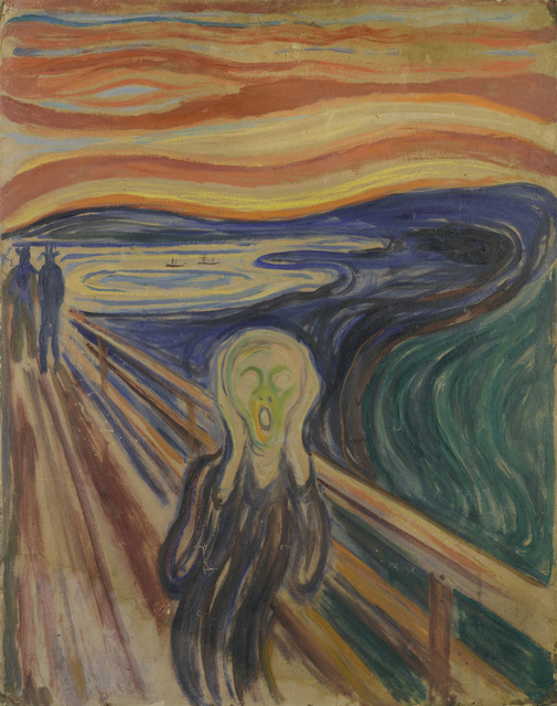 , 'The Scream,' 1893, Fondation Louis Vuitton
