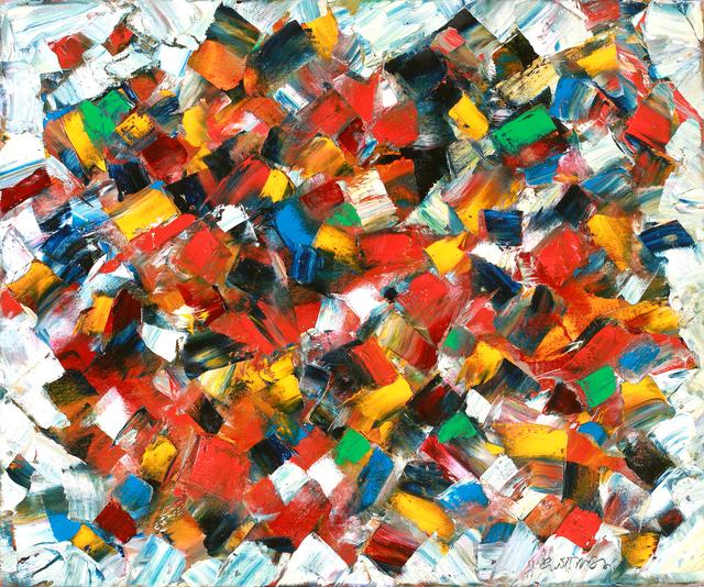 Harry Guttman, 'Earth Balance Series', 2011, Painting, Acrylic On Canvas, Blue Gallery