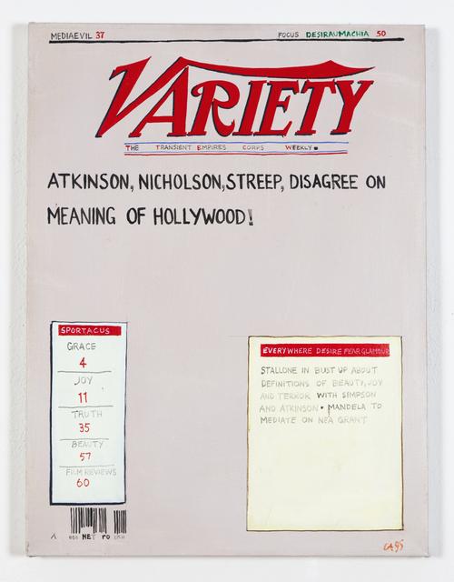 , 'Variety: Mediaevil,' 1994, Ronald Feldman Fine Arts