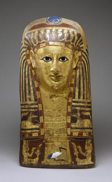 'Mummy Mask of a Woman', 50 B.C.-A.D. 50, Walters Art Museum