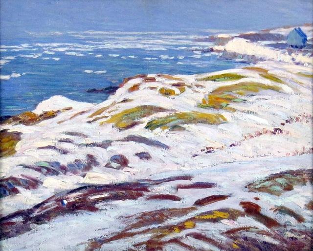 Morris Hall Pancoast, 'Rockport Winter Shore', ca. 1920, Janus Galleries