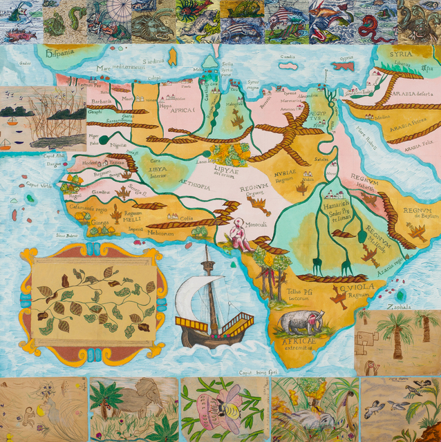 Joyce Kozloff, 'Calm Sea, Rough Sea', 2017, DC Moore Gallery