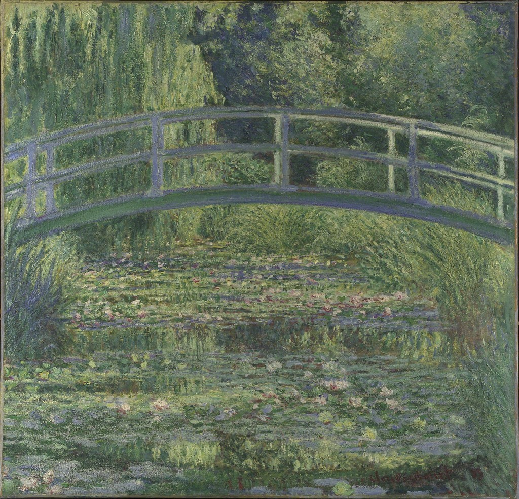 Claude Monet | The Water-Lily Pond (1899) | Artsy