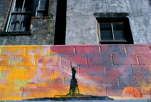 , 'Liberty Wall (E. 2nd St.),' 1978, Inda Gallery