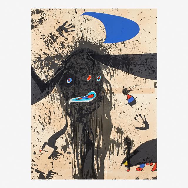 Joan Miró, 'La Ruisselante Lunaire', 1976, Rago/Wright