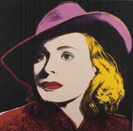 Ingrid Bergman with Hat, from Ingrid Bergman