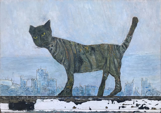 , 'A Cat,' 2009, Vanda Art Gallery