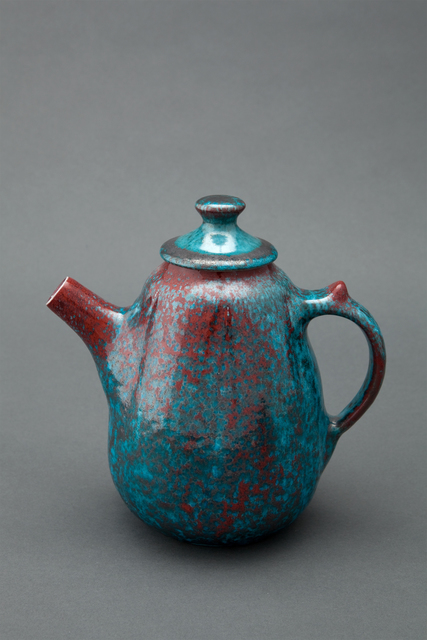 , 'Teapot, copper crystal glaze,' , Pucker Gallery