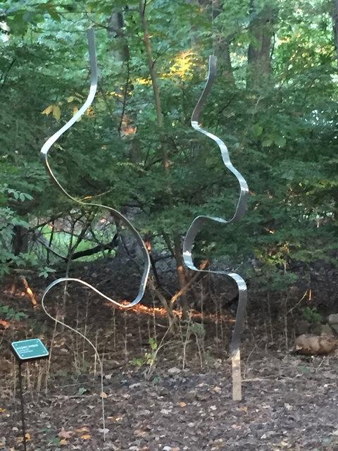Jacques Jarrige, 'Curves #4 Kinetic Sculptures by Jacques Jarrige', 2017, Sculpture, Hammered Aluminum, Valerie Goodman Gallery
