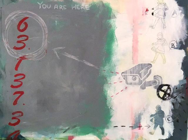 , 'All Eyes,' 2017, The Directed Art Modern