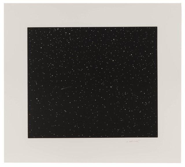 Vija Celmins, 'Comet', 1992, Print, Linocut, Upsilon Gallery