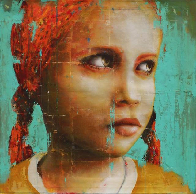 Fernando Adam, 'Martina', ca. 2019, Painting, Acrylic on canvas, Galeria Jordi Barnadas