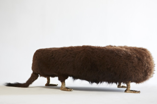 """The Haas Brothers, '""""Beast"""" bench', 2013, R & Company"""