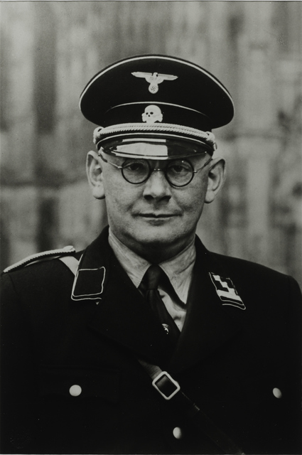 August Sander, 'SS Captain, 1937', Galerie Julian Sander