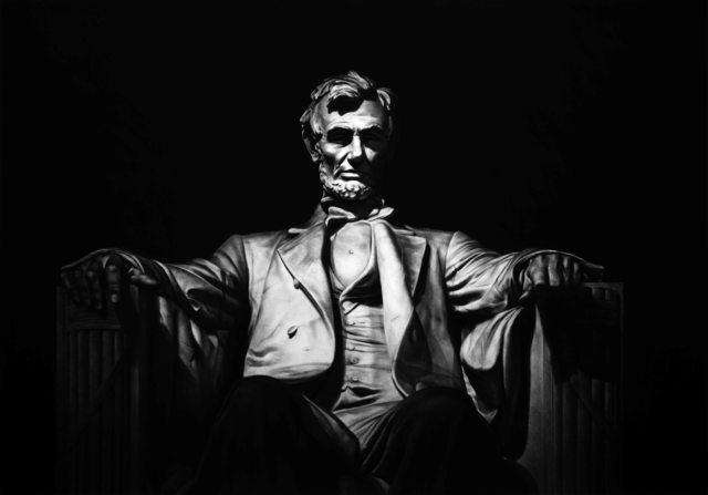 , 'Abraham Lincoln,' 2016, Victor Lope Arte Contemporaneo