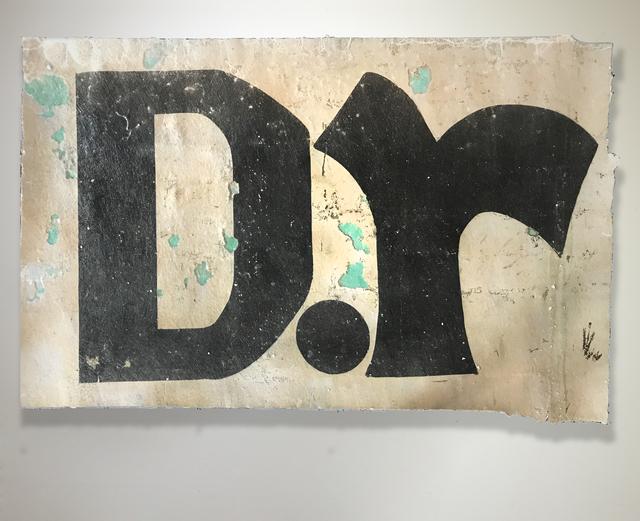 , 'D.r (Dr),' 2017, Gallery Nosco