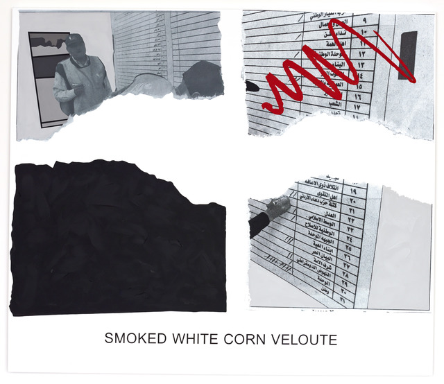, 'Morsels And Snippets: Smoked White Corn Veloute,' 2013, Mai 36 Galerie
