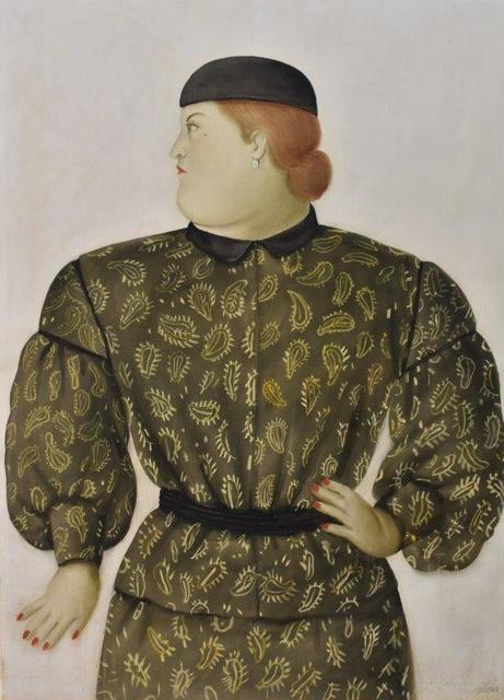 , 'Mujer Vestida por Hanai Morí ,' 1981, Galería Duque Arango