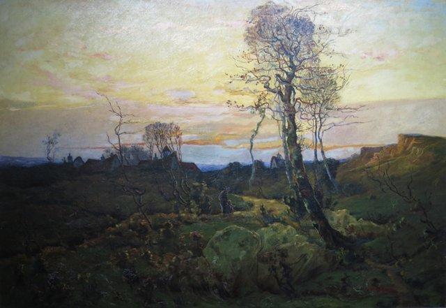 , 'Paysage d'automne ,' 1891, Galerie Claude Lafitte
