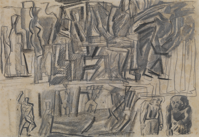 , 'Composition,' ca. 1943, Brun Fine Art