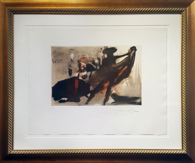 Salvador Dalí, 'Individual Bullfight', 1966, Print, Etching on Arches paper, Galerie d'Orsay