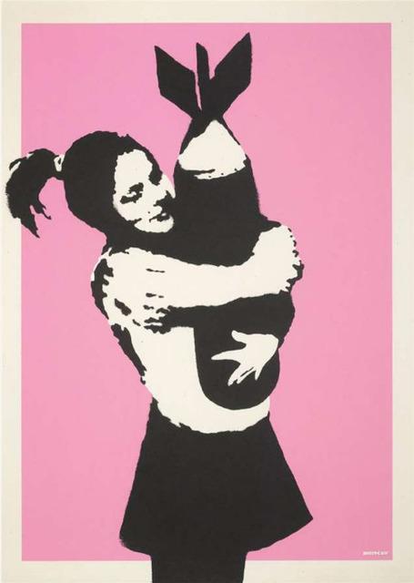 Banksy, 'Bomb Love (Bomb Hugger)', 2003, Hexagon Gallery
