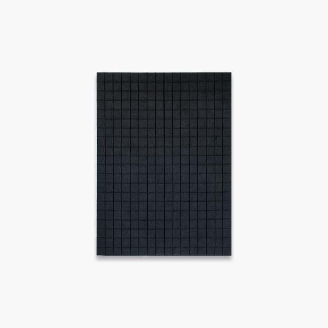 Nicole Patel, 'Black Sand Grid ', 2018, Tappan