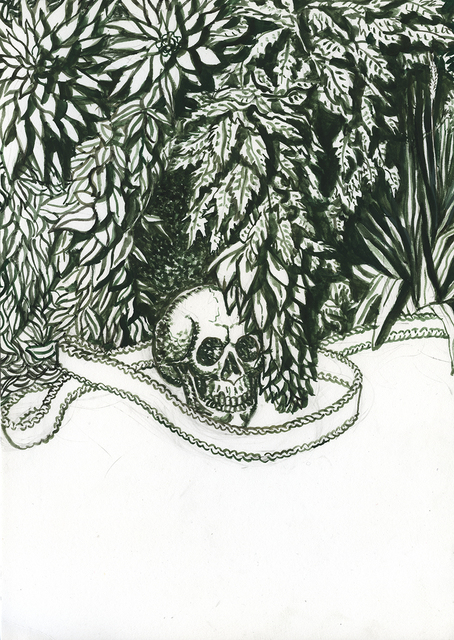 , 'Untitled [Skull],' 2012-2014, LETO