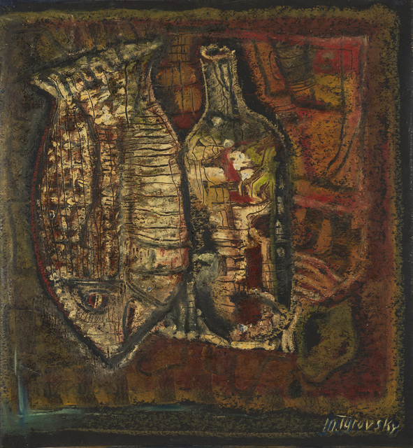 Mikhail Turovsky, 'Still Life with Bottle and Fish', ca. 2002, Vail International Gallery