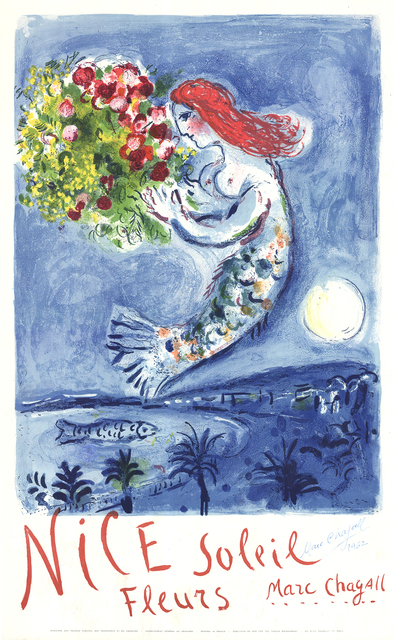 Marc Chagall, 'Bay of Angels', 1962, ArtWise
