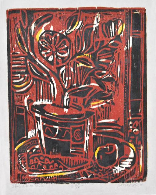 , 'Still Life on Table (#1/15),' 2010, Greenhut Galleries