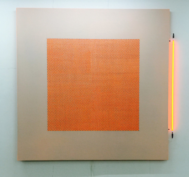 , 'The Real Illusion-Orange,' 2015, Aye Gallery