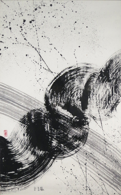 Don Ahn, 'Zen Dragon', 1962, Painting, Acrylic on Canvas, Walter Wickiser Gallery