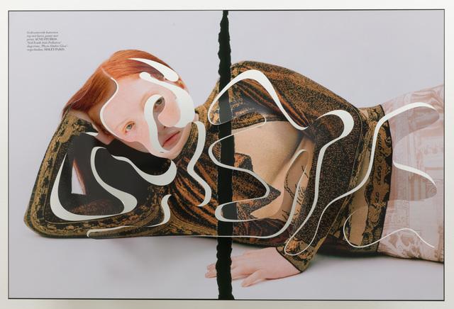 Amie Dicke, 'ONE-LINER V (Separation Redhead)', 2019, Anat Ebgi
