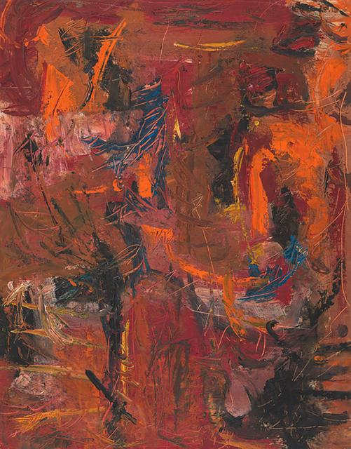 Jon Schueler, '(o/p 49-4) Abstract IV', 1949, Anita Shapolsky Gallery