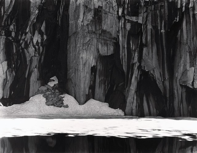 , 'Ice and Cliffs, Kawea Gap (Frozen Lake and Cliffs, Sequoia National Park,' 1932, Robert Mann Gallery