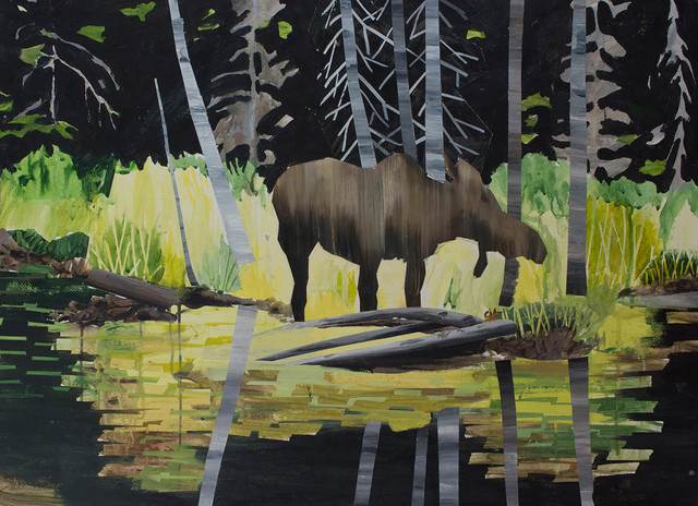, 'Moose ,' 2012, Peter Robertson Gallery