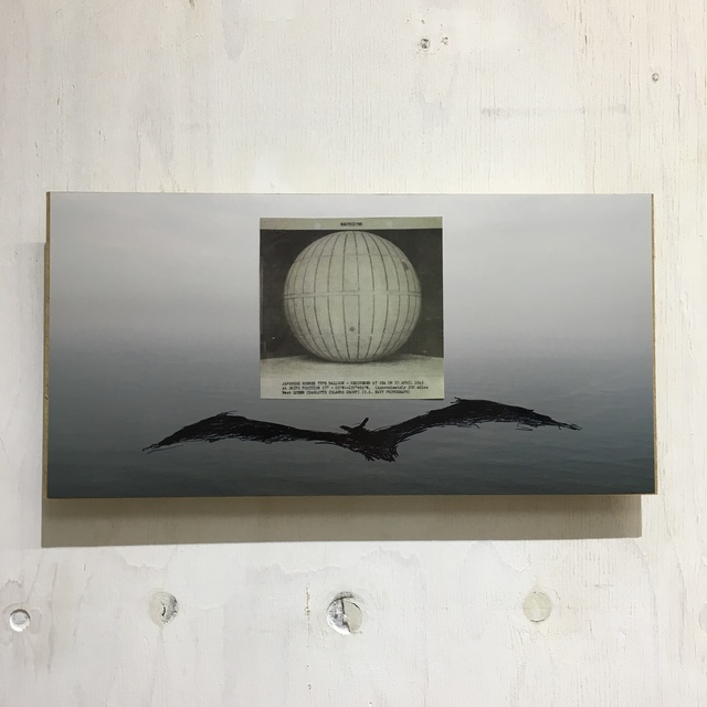 , 'Following the balloon at around 53°03'N - 135°+52'W,' 2019, SNOW Contemporary