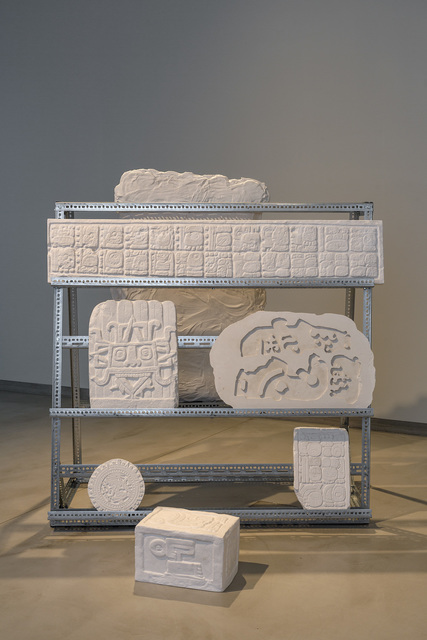 , 'Hieroglyph Storage,' 2014, kurimanzutto