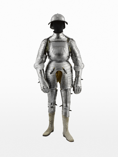 , 'Armure maximilienne (Maximilian armor),' c. 1510, Musée du quai Branly